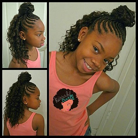Cornrow Hairstyles For Ages 8 10 by Crochet Braids Style Freetress Twist Kissable