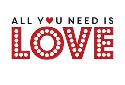 all you need is and a all you need is loveletterhire