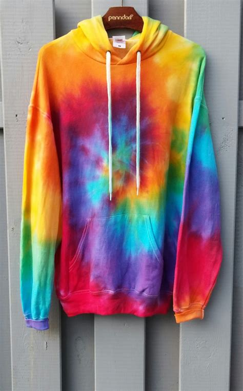 tie dye hoodie bunte farben