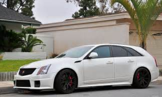 Cadillac Cts V Wagon For Sale 2011 Cadillac Cts V Wagon Pearl White Fvl Hit Quot L