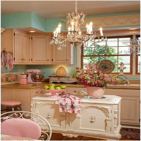 amazing interior design pink and white kitchen pink shabby chic kitchen kitchen ideas
