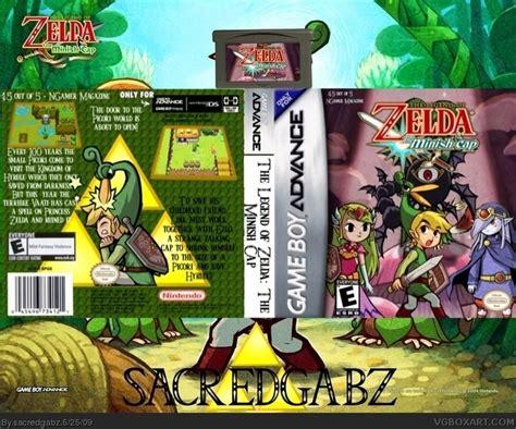 Gabag Zelca the legend of the minish cap boy advance box