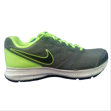 nike running shoes gray white and lime buy nike running