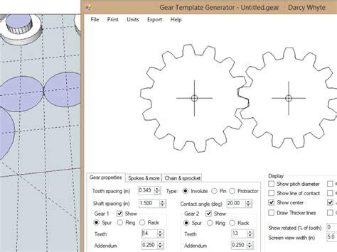 gear template gear template generator gallery template design ideas