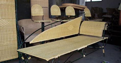 Kursi Tamu Eceng Gondok istana rotan jogja furniture craft order