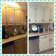 annie sloan kitchen cabinets before and after chalk paint old blonde oak cupboards for a new updated