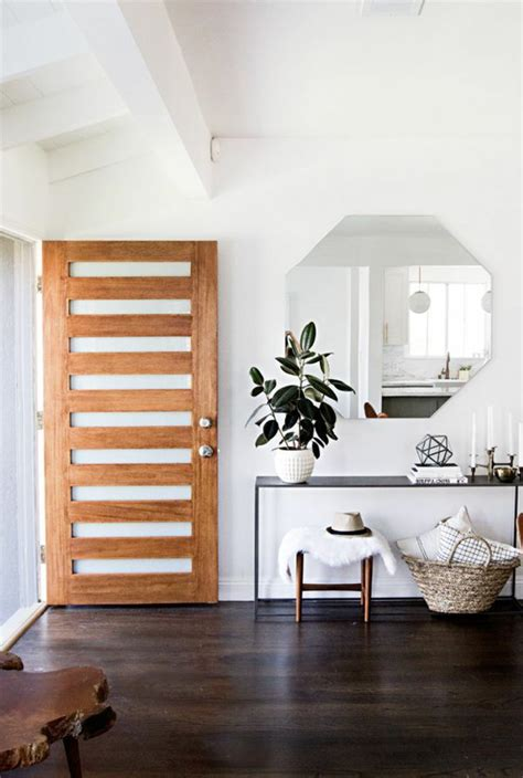 Hauseingang Dekorieren Ideen F 252 R Eine Charmante Einrichtung Home Interior Entrance Design Ideas