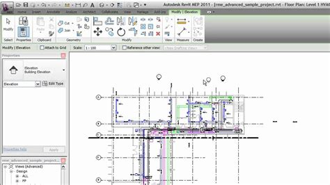 Search Floor Plans autodesk revit creating elevation views youtube