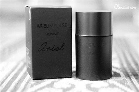 Parfum Ariel Impulse Executive review ariel impulse homme eau de parfum ola aswandi