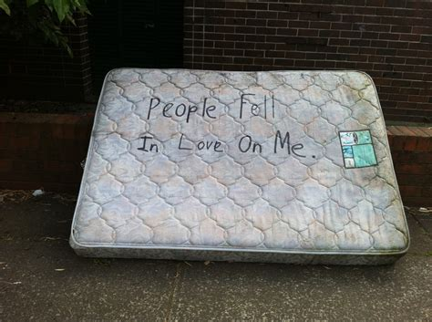 Nothing Really Mattress by Fell In On Me Nothing Really Mattress
