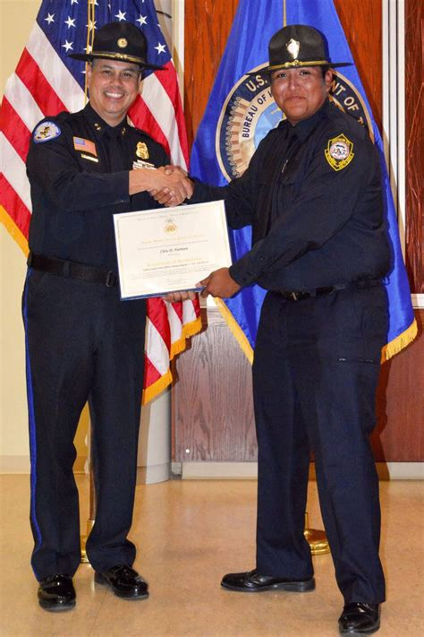 southern ute drum tribal member harrison  newest supd officer