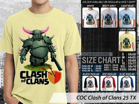 Kaos Anak Clash 0f Clans Coc kaos clash of clans elixir troops kaos clash of