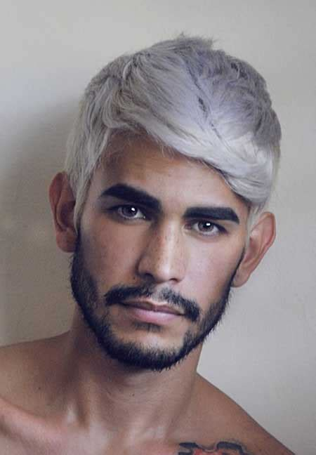 mens hairstyles with dye hair color ideas for men mens hairstyles 2018