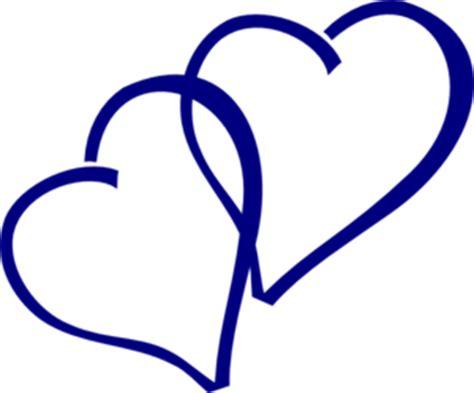 blue hearts clip art at clker com vector clip art online