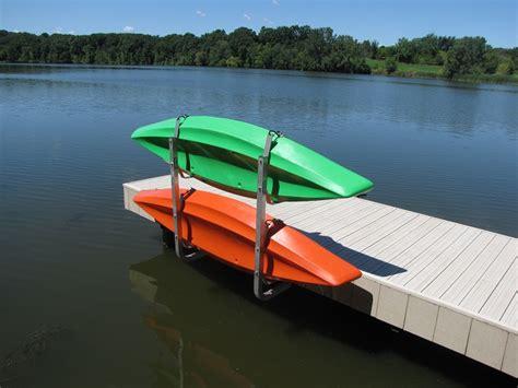 vertical kayak rack dock sidesdock sides - Boat Dock Kayak Rack