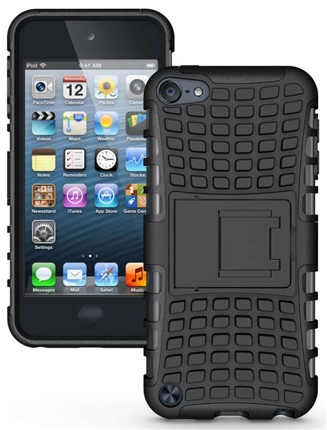 ipod touch rugged new grenade grip rugged tpu skin cover stand for ipod touch 5 5th