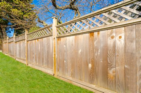 types of garden fences mjb carpentry what garden fencing type is right for your