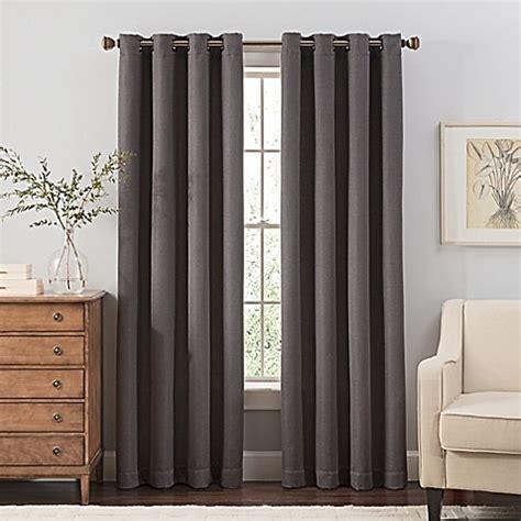 120 curtain panel buy reina 120 inch grommet top window curtain panel in