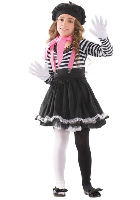 in costume child mesmerizing mime costume