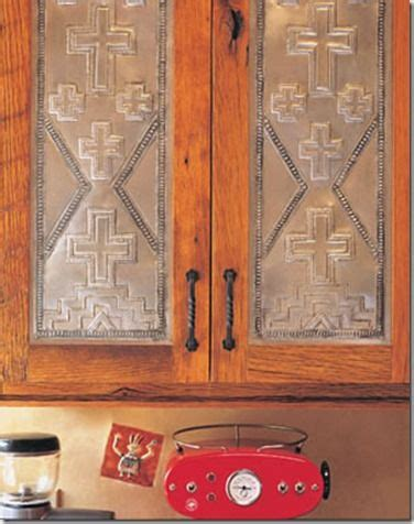 southwest kitchen cabinet hardware pressed tin western homes and tao on pinterest