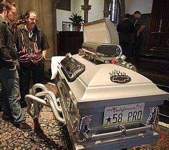 Maserati Rick Funeral by Digital Tombstones Multimedia Mourning