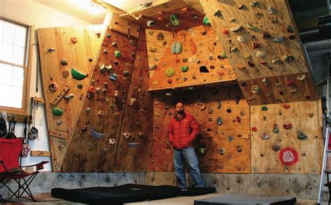 home climbing wall plans build your own garage gym woodworking projects plans