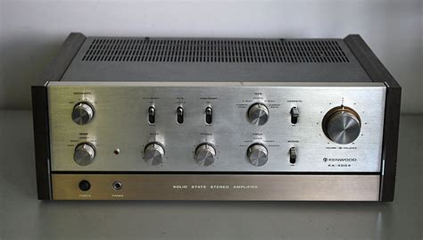 Home Design For New Home Kenwood Ka 4004 Solid State Stereo Amplifier Kenwood