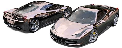 rose gold ferrari ferrari 458 project reforma uk