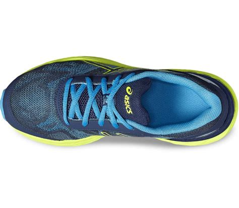 Asics Gel Nimbus 2 Premium Hq asics gel nimbus 19 gs children s running shoes blue yellow buy it at the keller sports