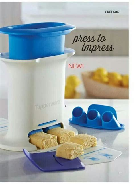 Tupperware Easy Kitchen press to impress with the snack press make fancy looking