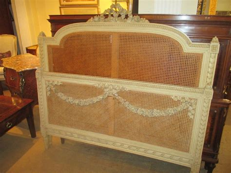 antique king bed kingsize french cane bed 315989 sellingantiques co uk