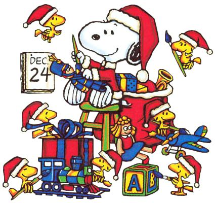 cartoons snoopy christmas cartoons  pictures