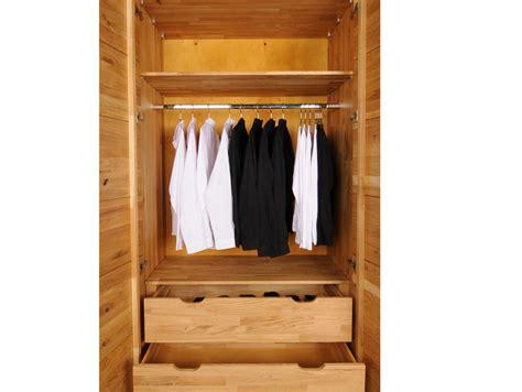 kleiderschrank bis 180 cm höhe salvador massivholz kleiderschrank wildeiche ge 246 lt 180 cm