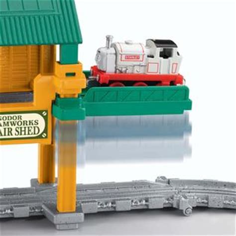 Sodor Steamworks Repair Shed by The Sodor Steamworks Repair Shed Get Ready