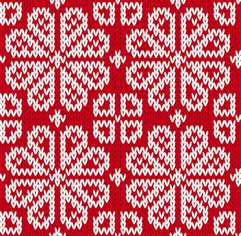 Christmas Pattern Knit Fabric | knitted fabric christmas pattern vector set 01 vector