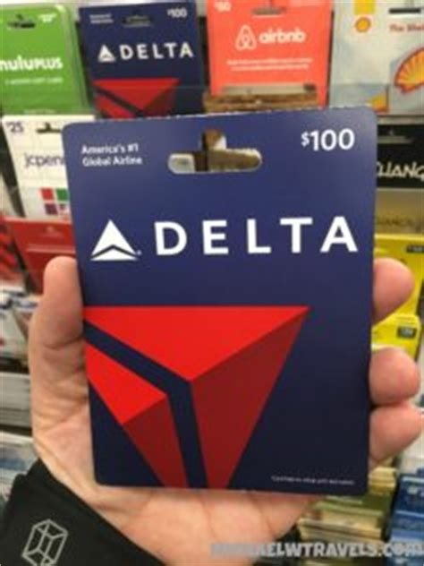 Delta Airline Gift Cards - earn 5x miles and points on delta airlines