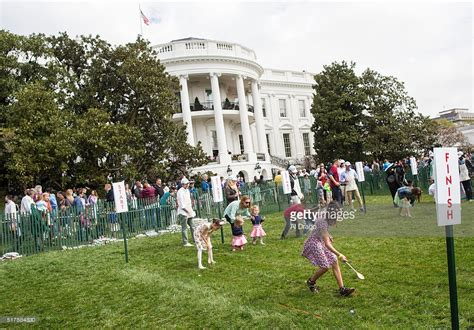first white house easter egg roll michelle obama getty images