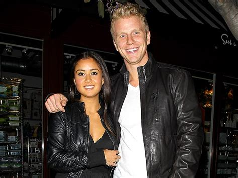 sean and catherine sean lowe engaged to catherine giudici celebrates her