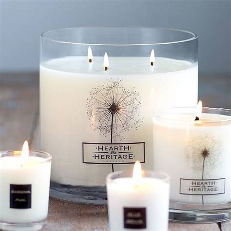 Big Candles Multi Wick Scented Candle By Hearth Heritage Ltd