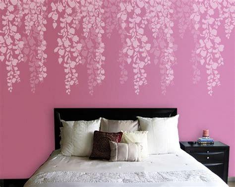 stencil muro da letto albero stencil stencil muro da letto cherry blossom
