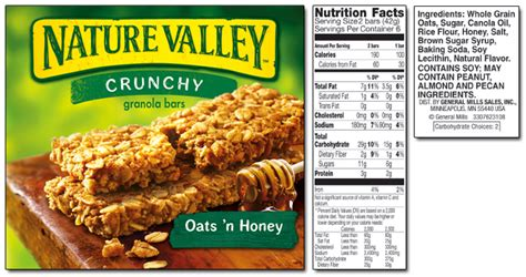 Nature Valley Detox by Non Profits Sue General Mills For False And Misleading Use