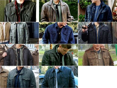 Dean Winchester Wardrobe by Supernatural Guide Search Supernatural