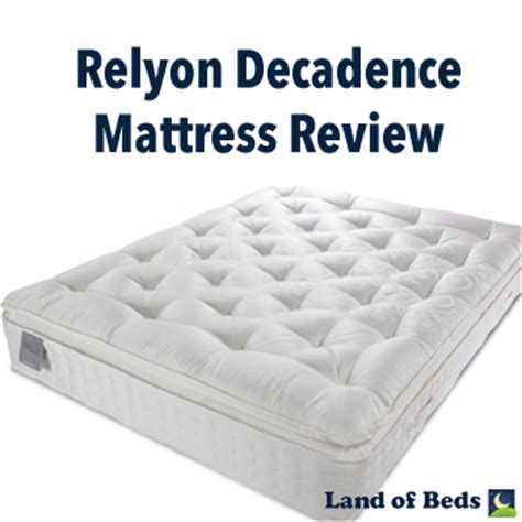 Do You Tip Mattress Delivery by Land Of Beds Relyon Decadence Mattress Review