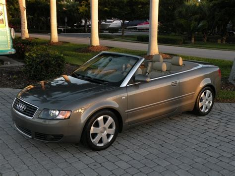 audi convertible 2006 2006 audi a4 1 8t convertible for sale in fort myers fl