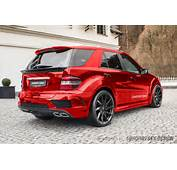Wide Body Kit For Mercedes ML W164  Suhorovsky Design