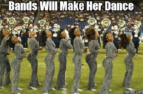 Bands Make Her Dance Meme - bands will make her dance