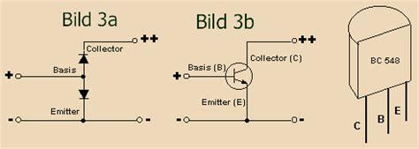transistor npn anschluss erkl 228 rung des transistors f 252 r anf 228 nger