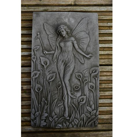 garden wall plaques uk water nymph garden wall plaque cast