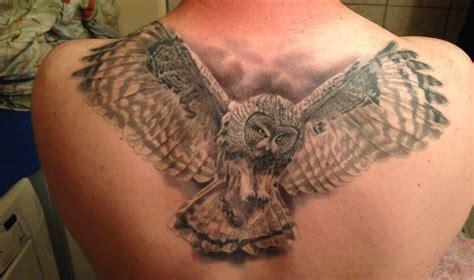 snowy owl tattoo realistic snowy owl