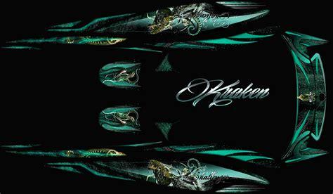 kraken boat graphics kraken seadoo jet boat graphics